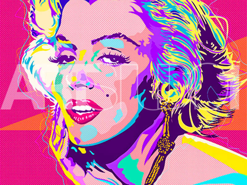 MARILYN BRIIGHTS / POP ART