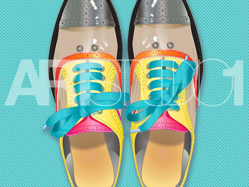 COLOUR SHOES / POP ART