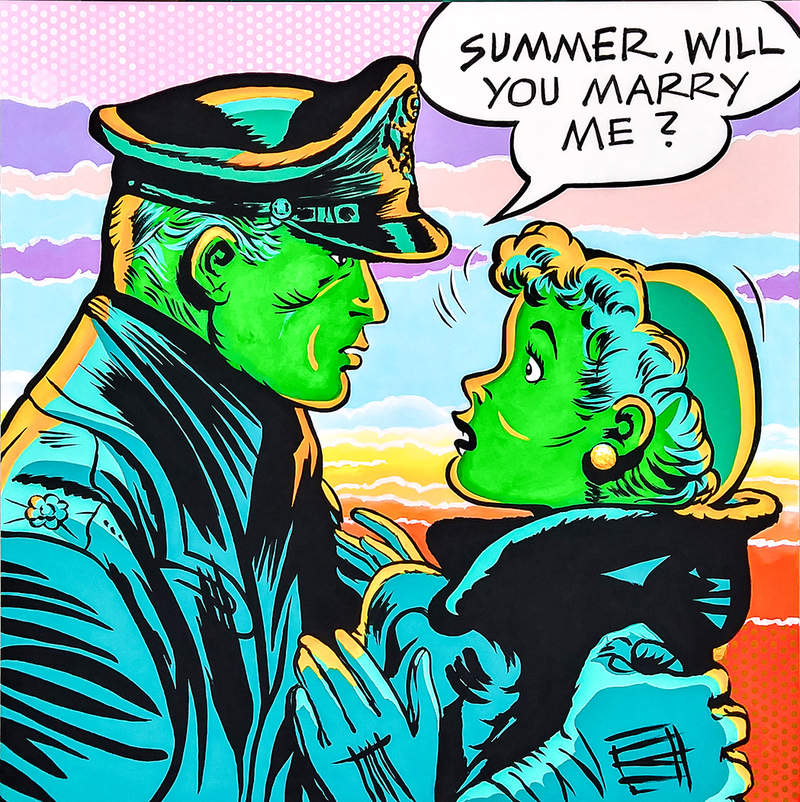 SUMMER, WILL YOU MARRY ME ? / POP ART | Tobar Jose