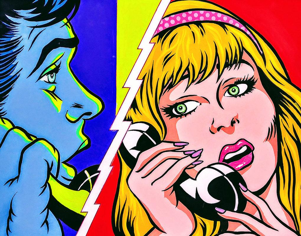 JUST TALKING... / POP ART   Tobar Jose