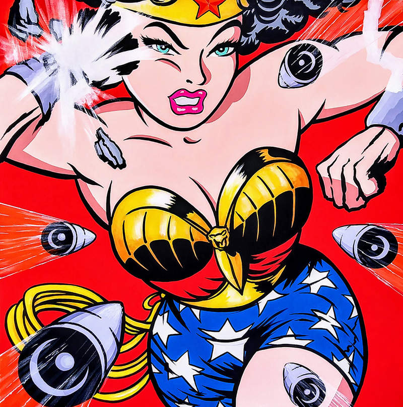 WONDER WOMAN / POP ART | Tobar Jose