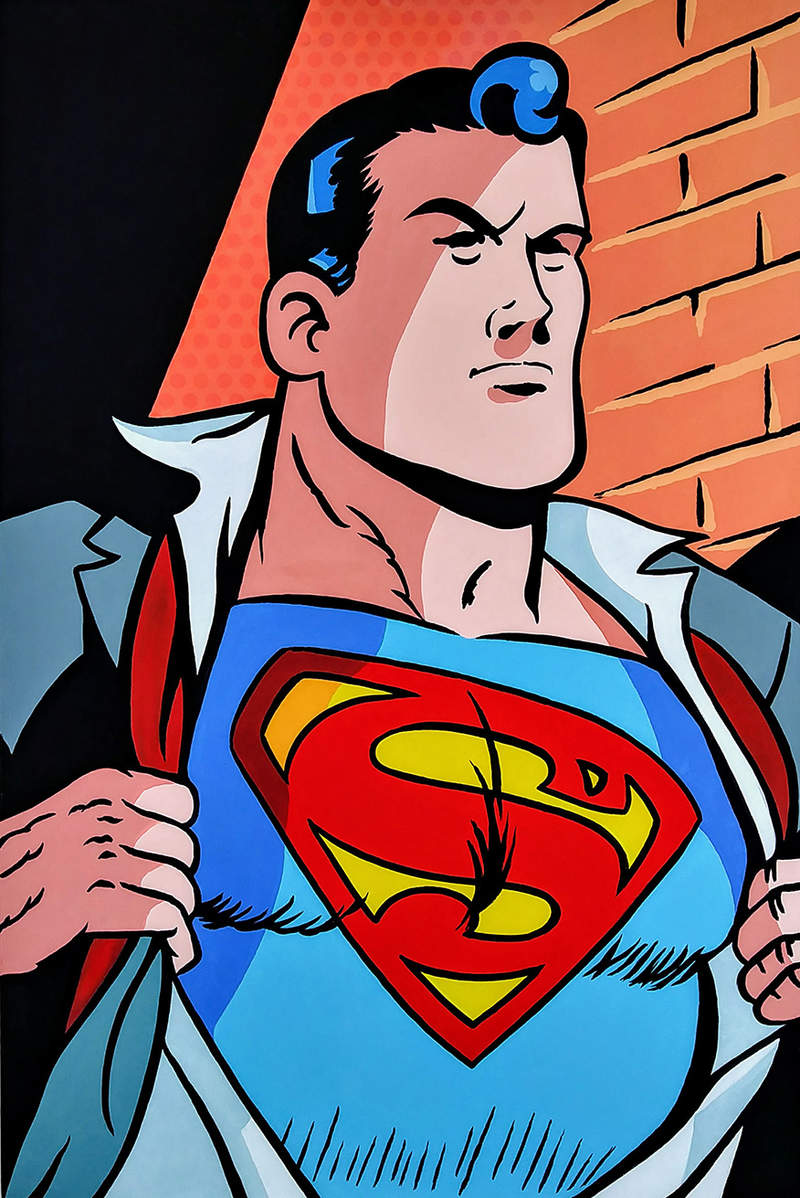 I´M SUPERMAN / POP ART | Tobar Jose