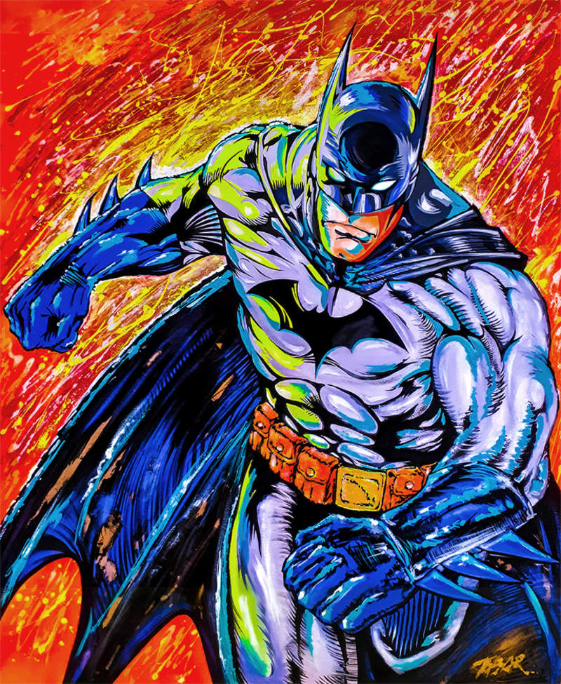 BATMAN IN ACTION / POP ART  | Tobar Jose