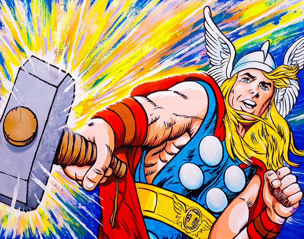 THOR IN ACTION / POP ART  | Tobar Jose