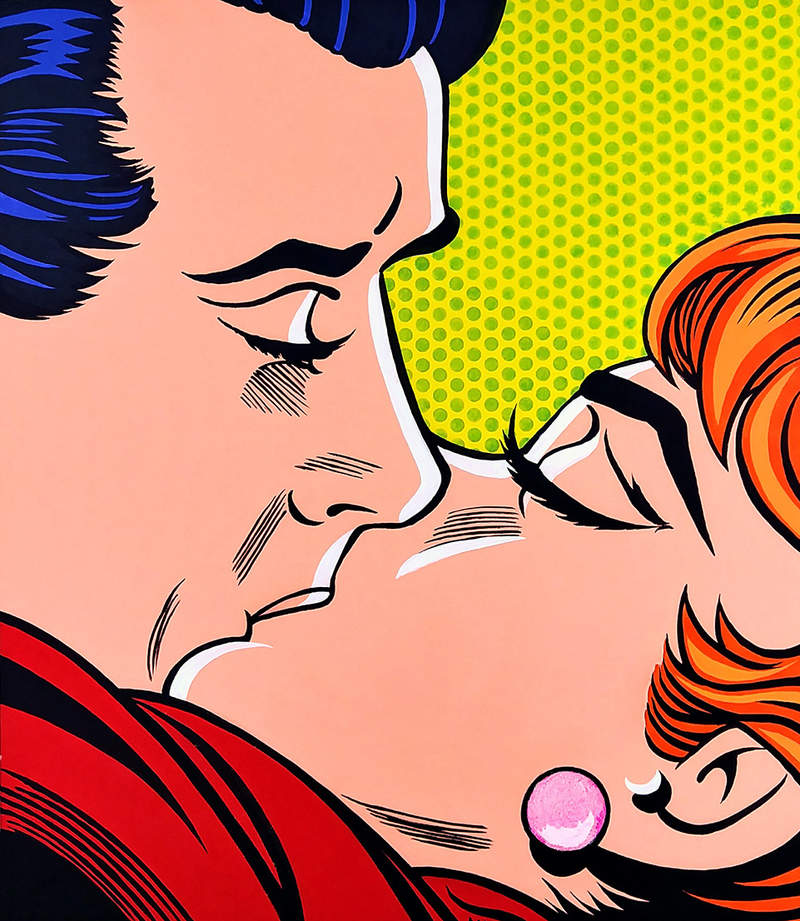 PASSIONETE KISS / POP ART | Tobar Jose