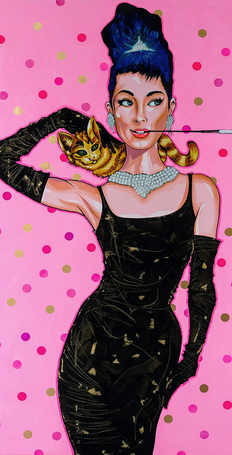AUDREY / POP ART  | Tobar Jose