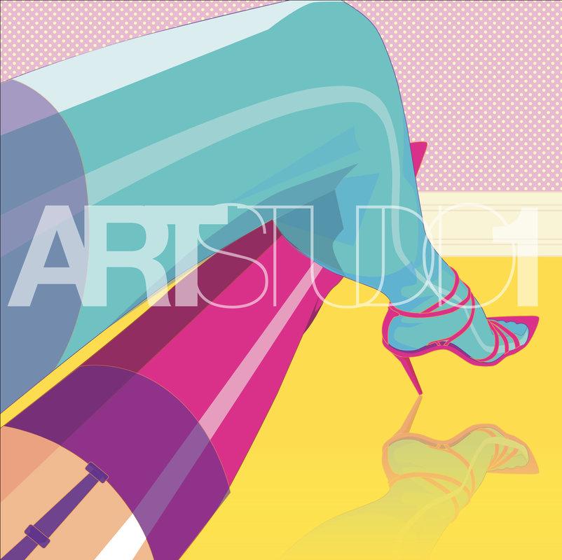 SEXY LEGS / POP ART | Tobar Jose