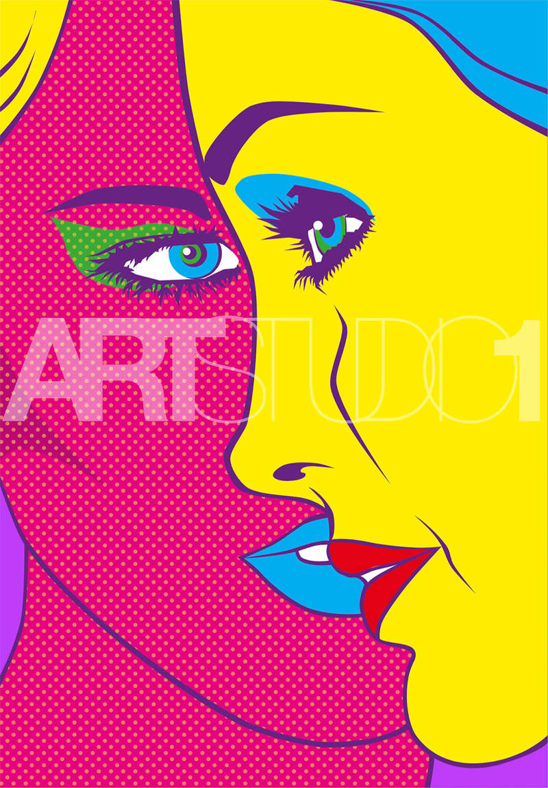 THEY, THE TWO / POP ART | Tobar Jose