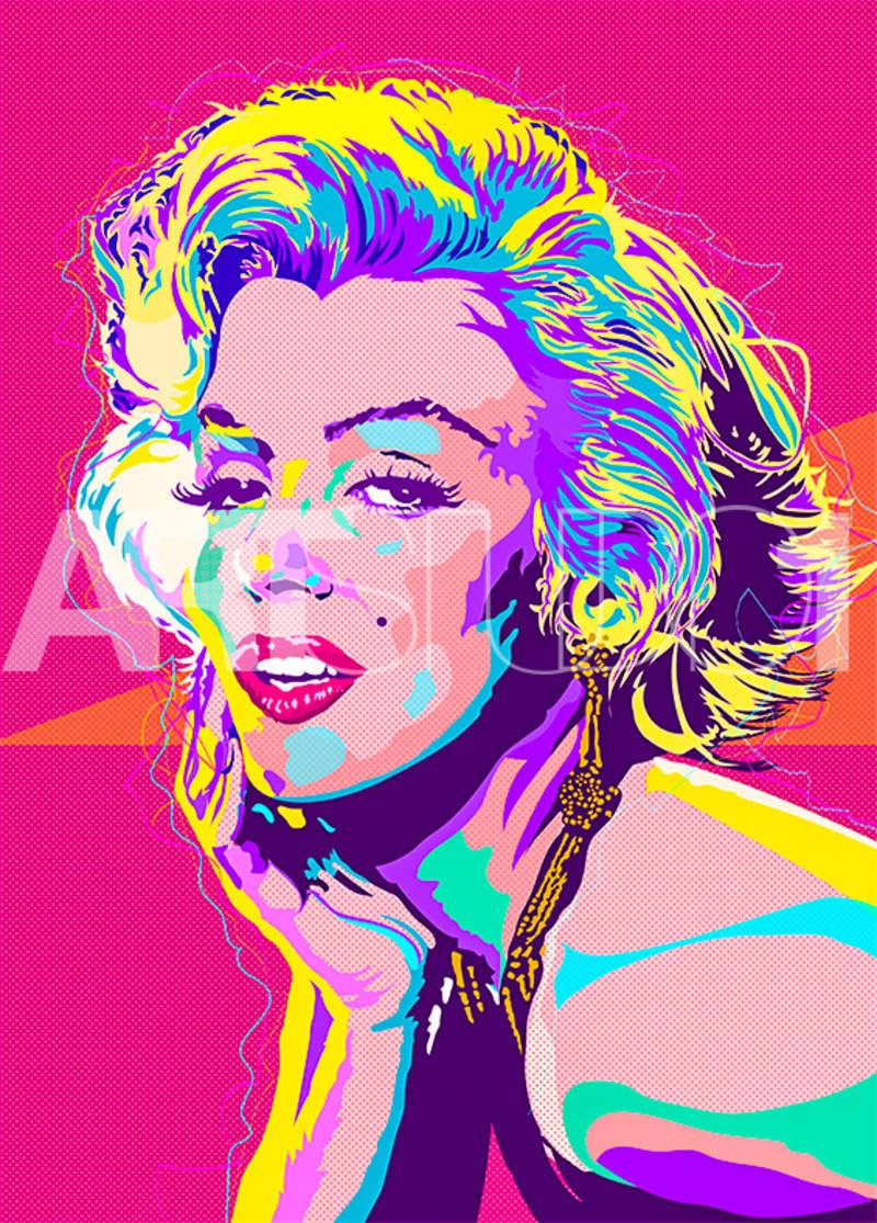 MARILYN BRIIGHTS / POP ART | Tobar Jose