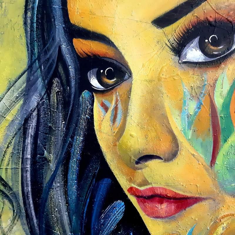 Retrato de mi hija Ana Luisa - Moscoso Luis | Moscoso Luis