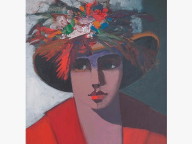 Carlos Catasse    Mujer con sombrero
