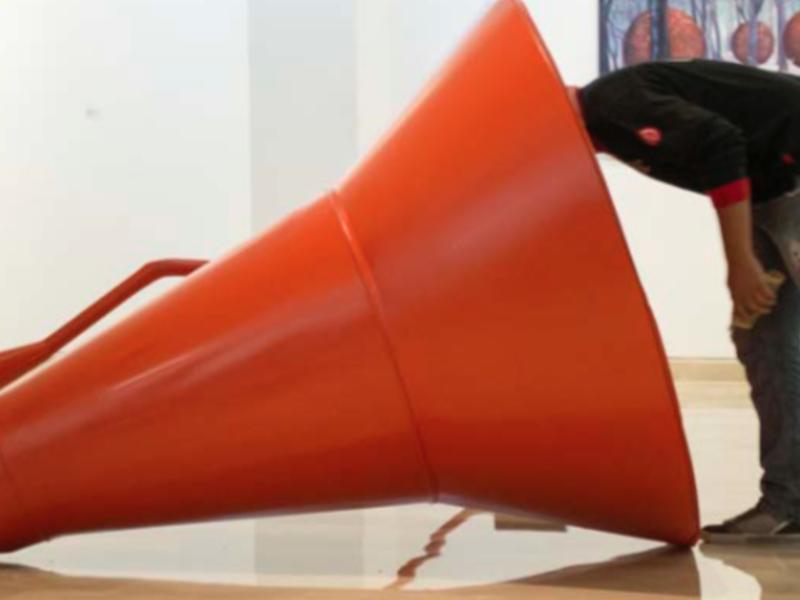 Ruido escultura sonora