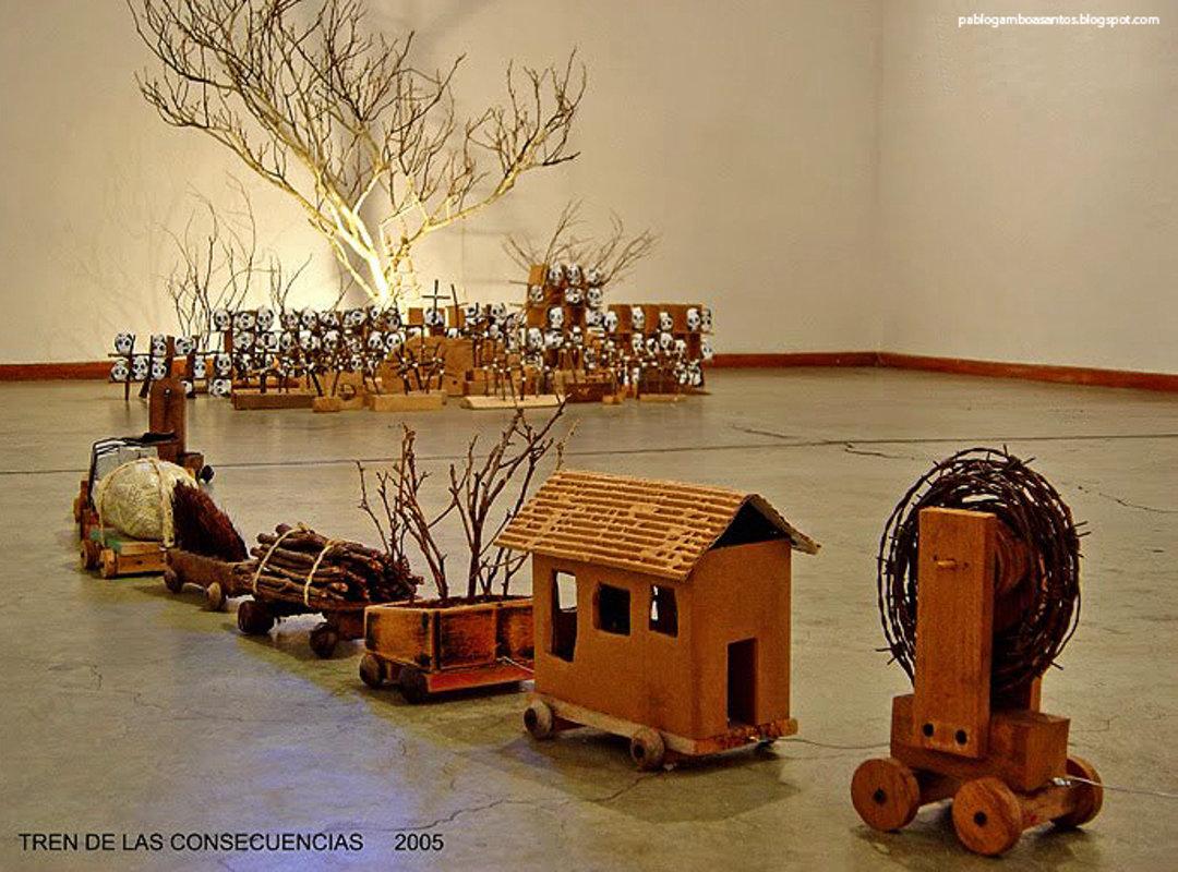 Detalle Tren de las consecuencias | Gamboa Pablo