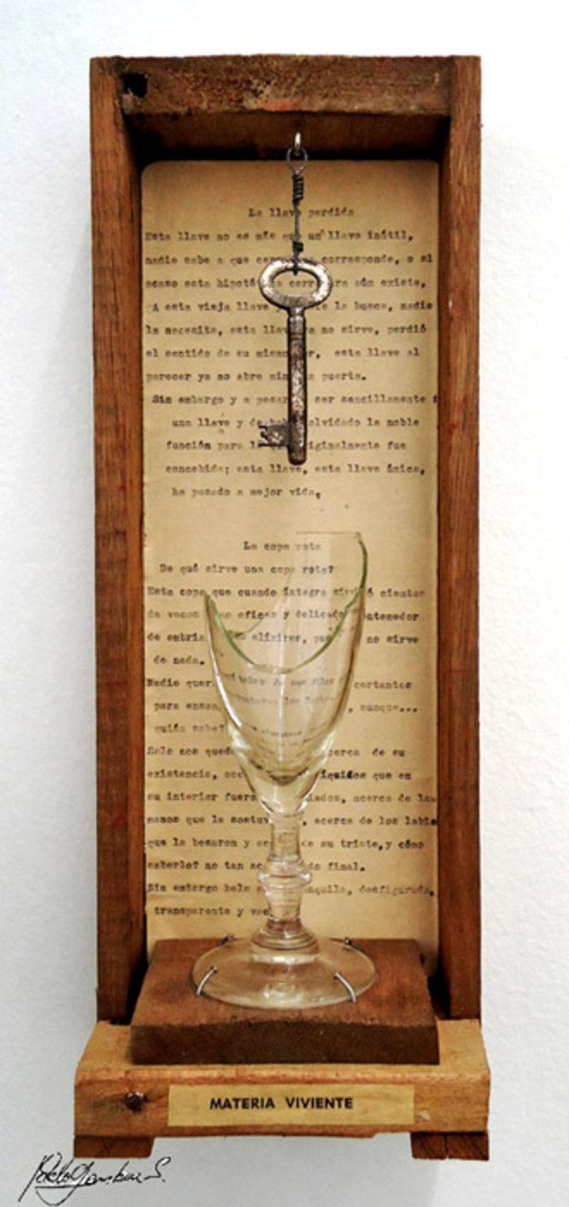 La copa y la llave | Gamboa Pablo