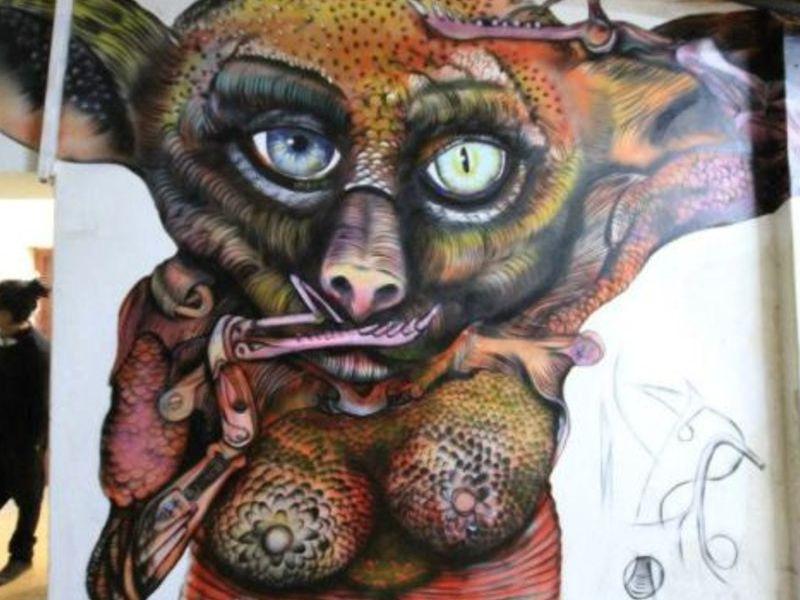 Homie mural