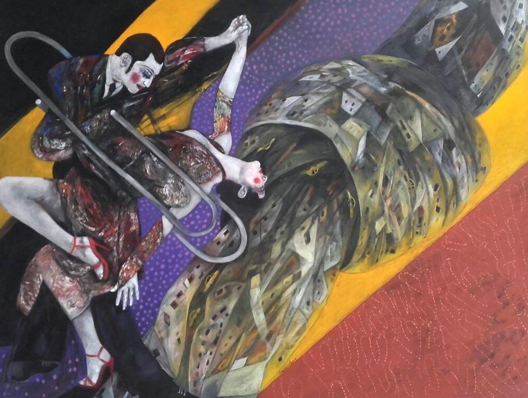 Tango en la ciudad anudada | Rosero Carlos