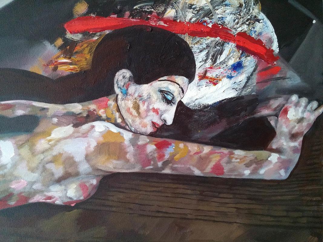 Susana dormida | Rosero Carlos