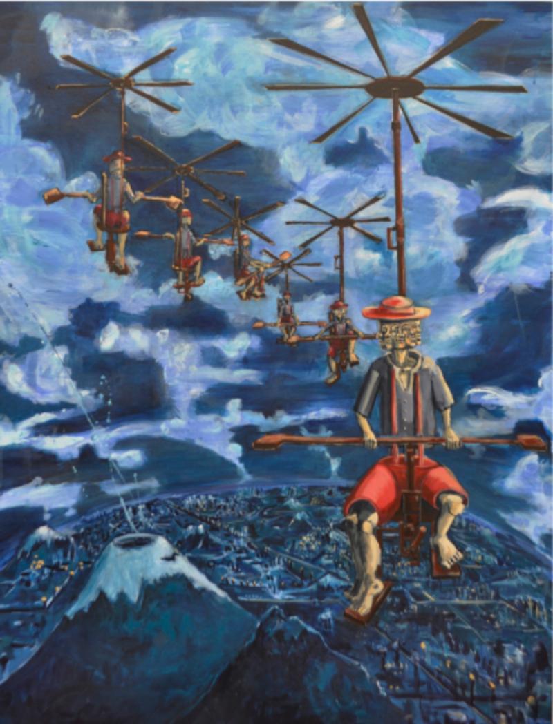 La máquina de volar | Espinosa Daniel
