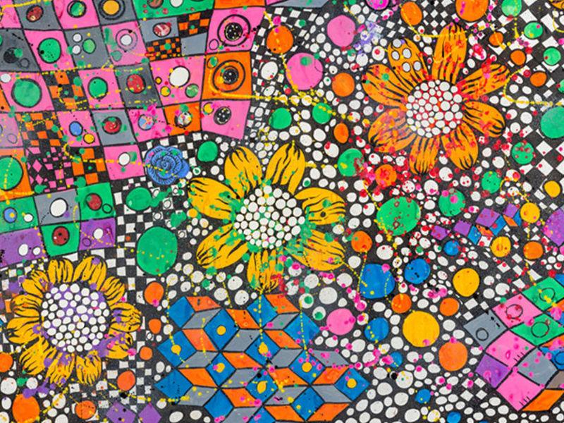 flores solares