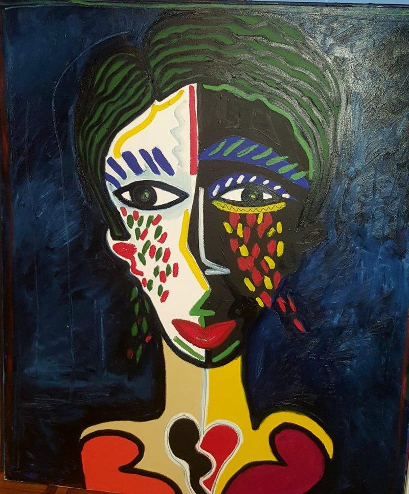 Retrato Mujer 1  | Guzmán González