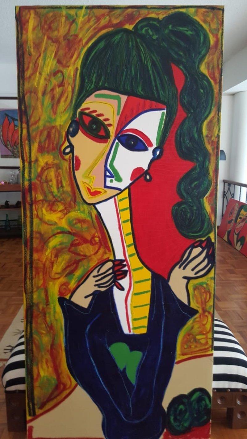 Guzmán González / Retrato Mujer 4 | Guzmán González