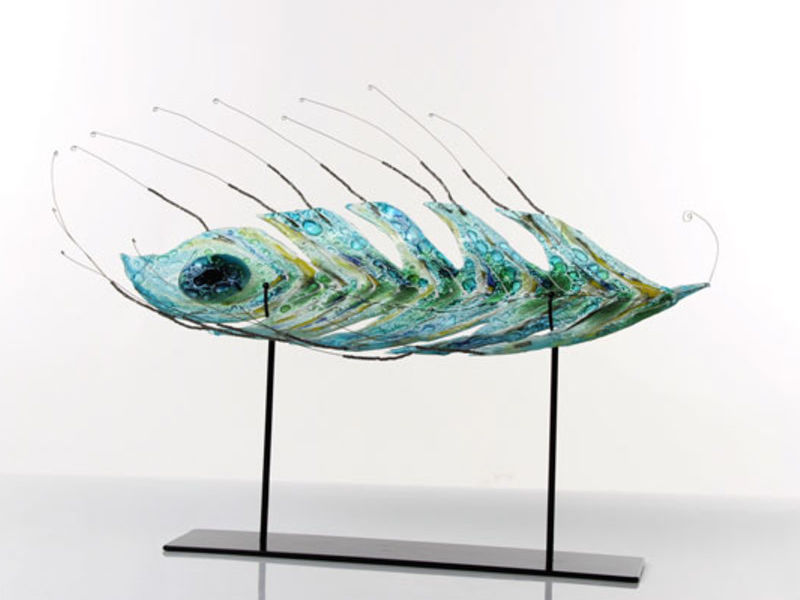 Alexandra Moshenek / pluma de pavo real