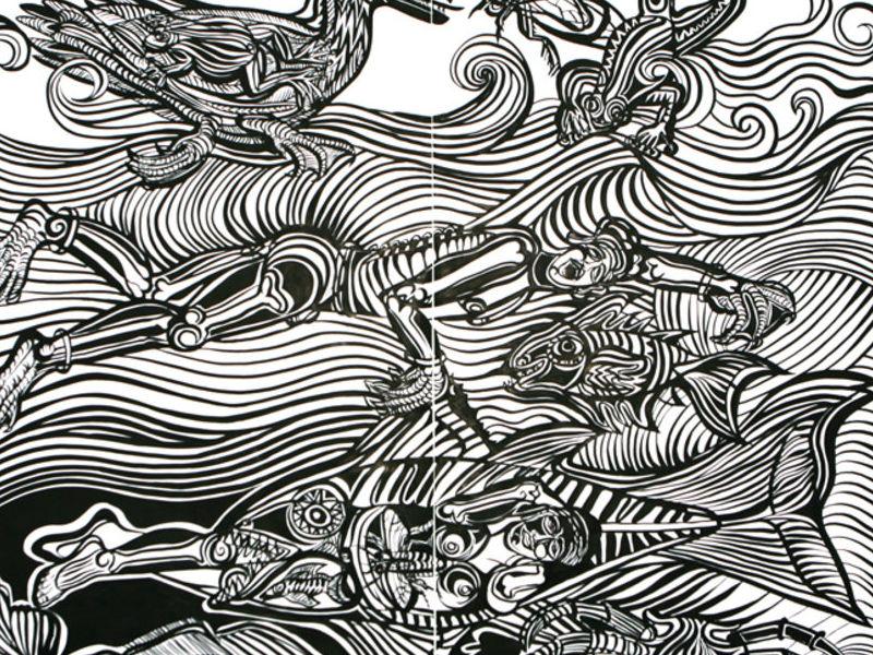 Paula Barragán / Calamares en su tinta