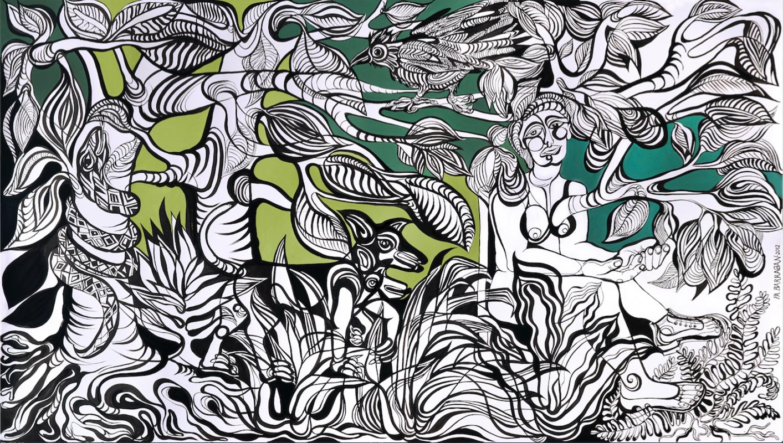 Paula Barragán / Verde que te quiero verde | Barragán Paula