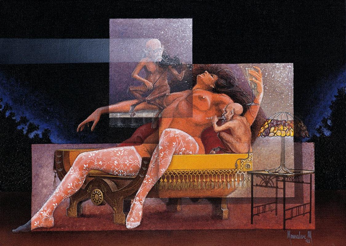 Sueño con faunos | Monsalve Carlos